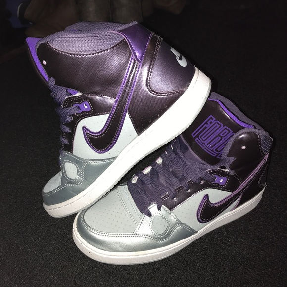 le scarpe nike air force one  viola al massimo 85 poshmark